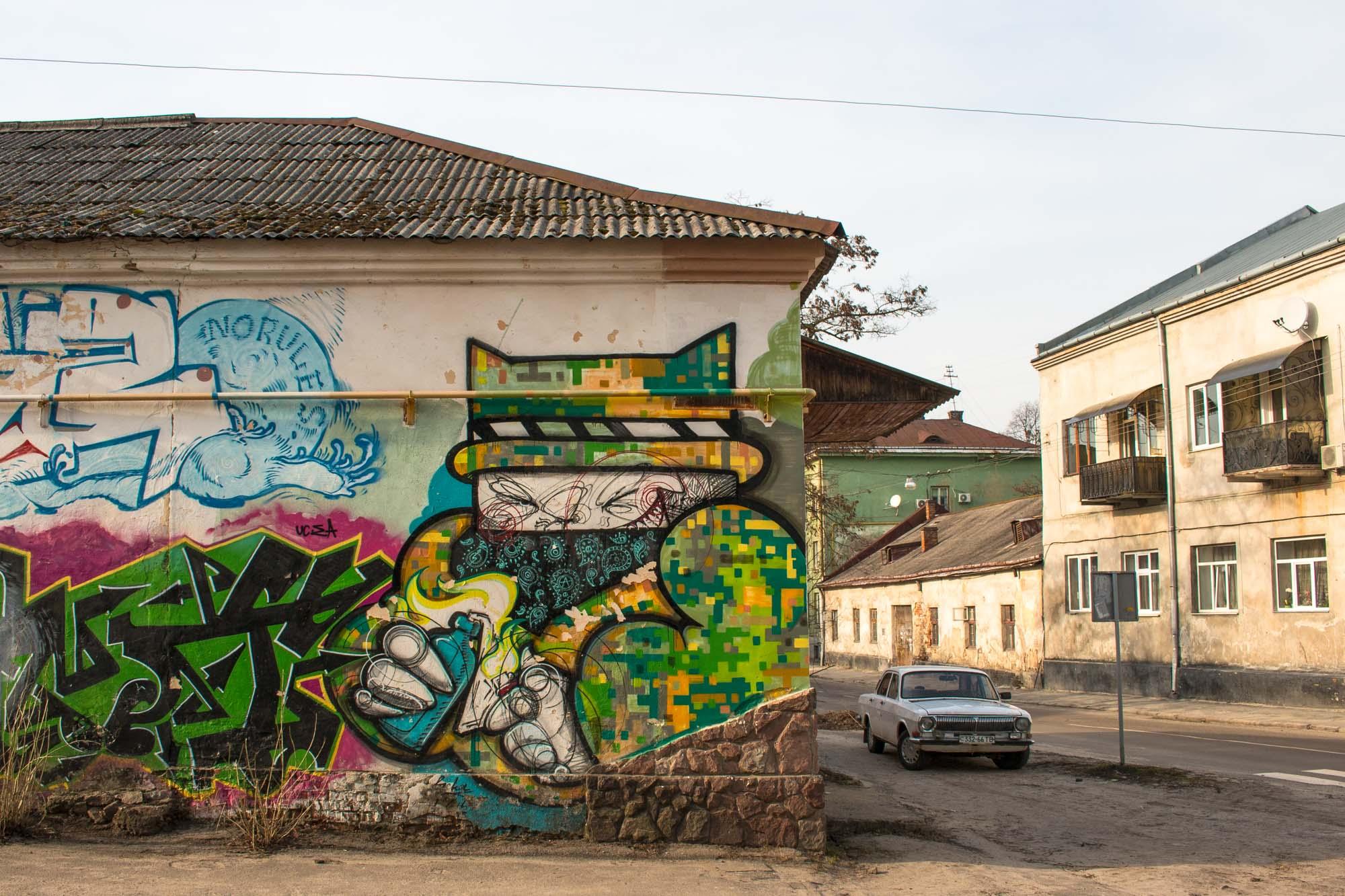 Графіті / навколографіті у Львові. Тарас Arm – про кластер стріт-арту в 2016 та 2019 роках