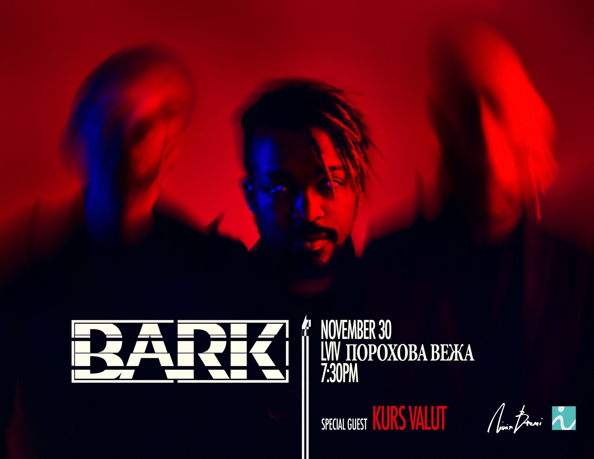 Концерт BARK and Kurs Valut / Lviv / 30.11